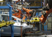 English listening: Car Factory Robots