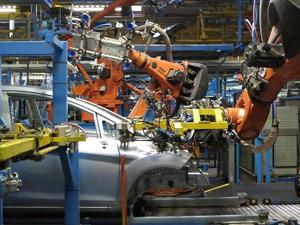English listening: Car Factory Robots